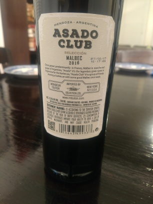 AsadoClubWineMalbecNote