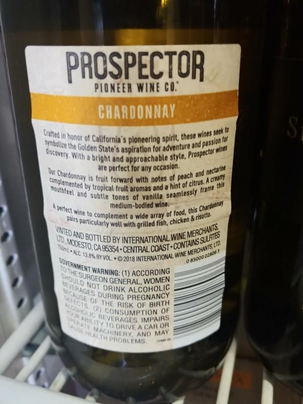 ProspectorChardonnayInfo